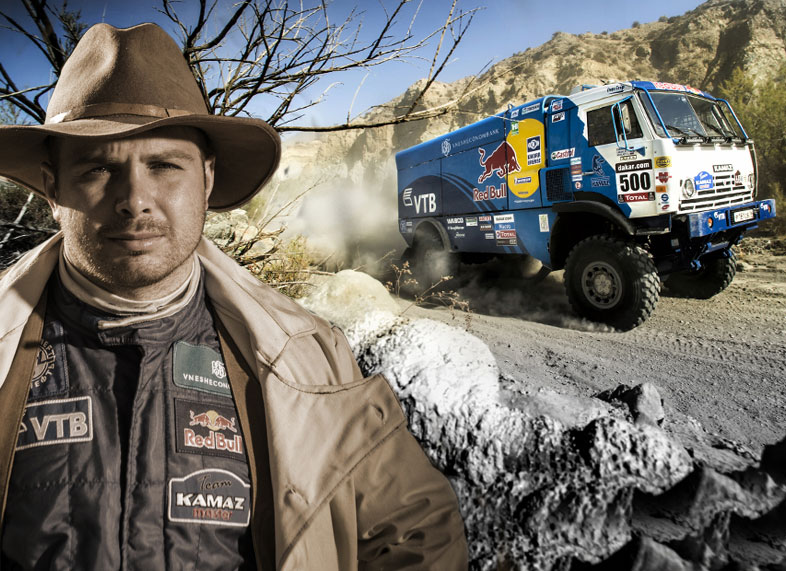 Kamaz Master Team win first place in Dakar 2013